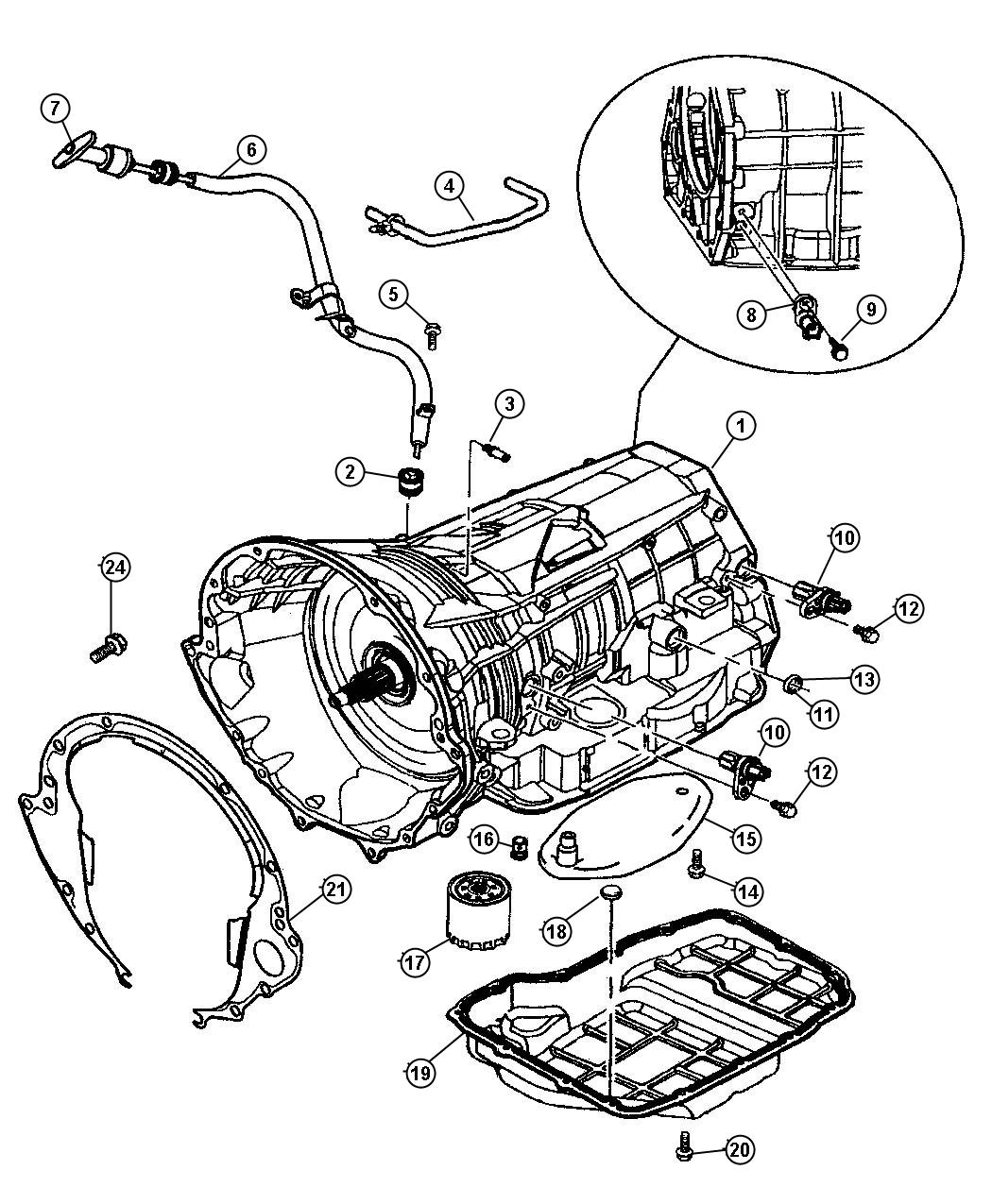 Dodge Ram Tube Transmission Oil Filler Related