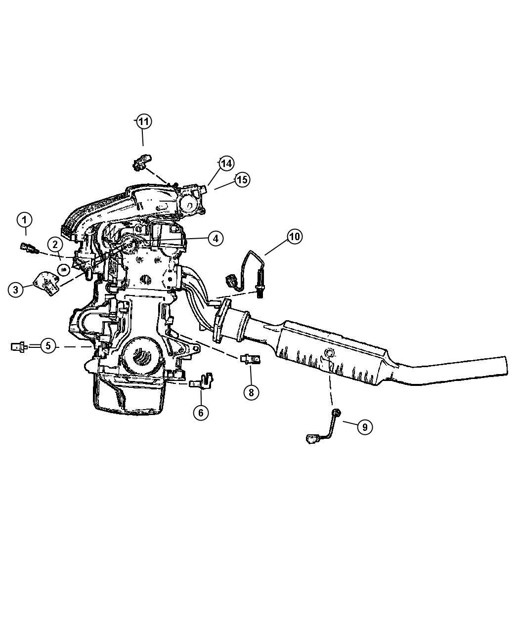 Chrysler Pt Cruiser Sensor Throttle Position After
