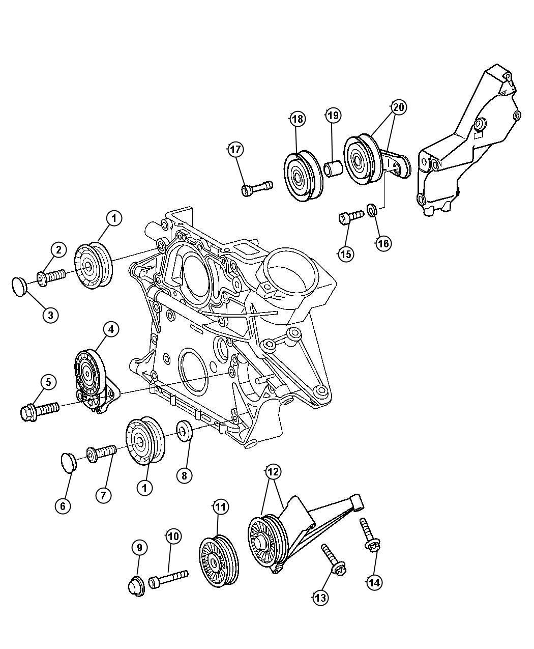 Dodge Sprinter Tensioner Belt Conditioning