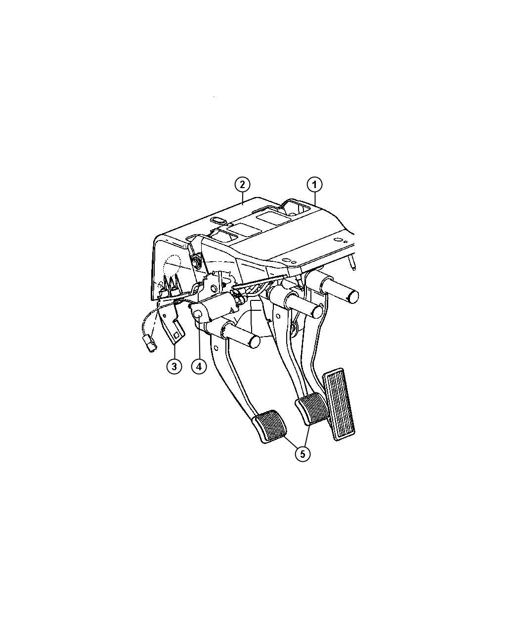 Dodge Ram Used For Pedal And Bracket Brake