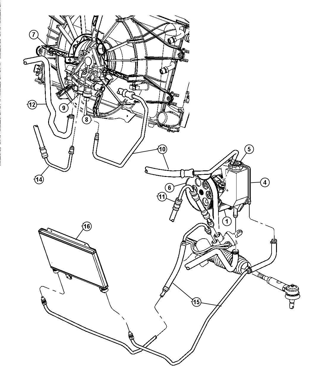 Dodge Ram Line Power Steering Performance Steering