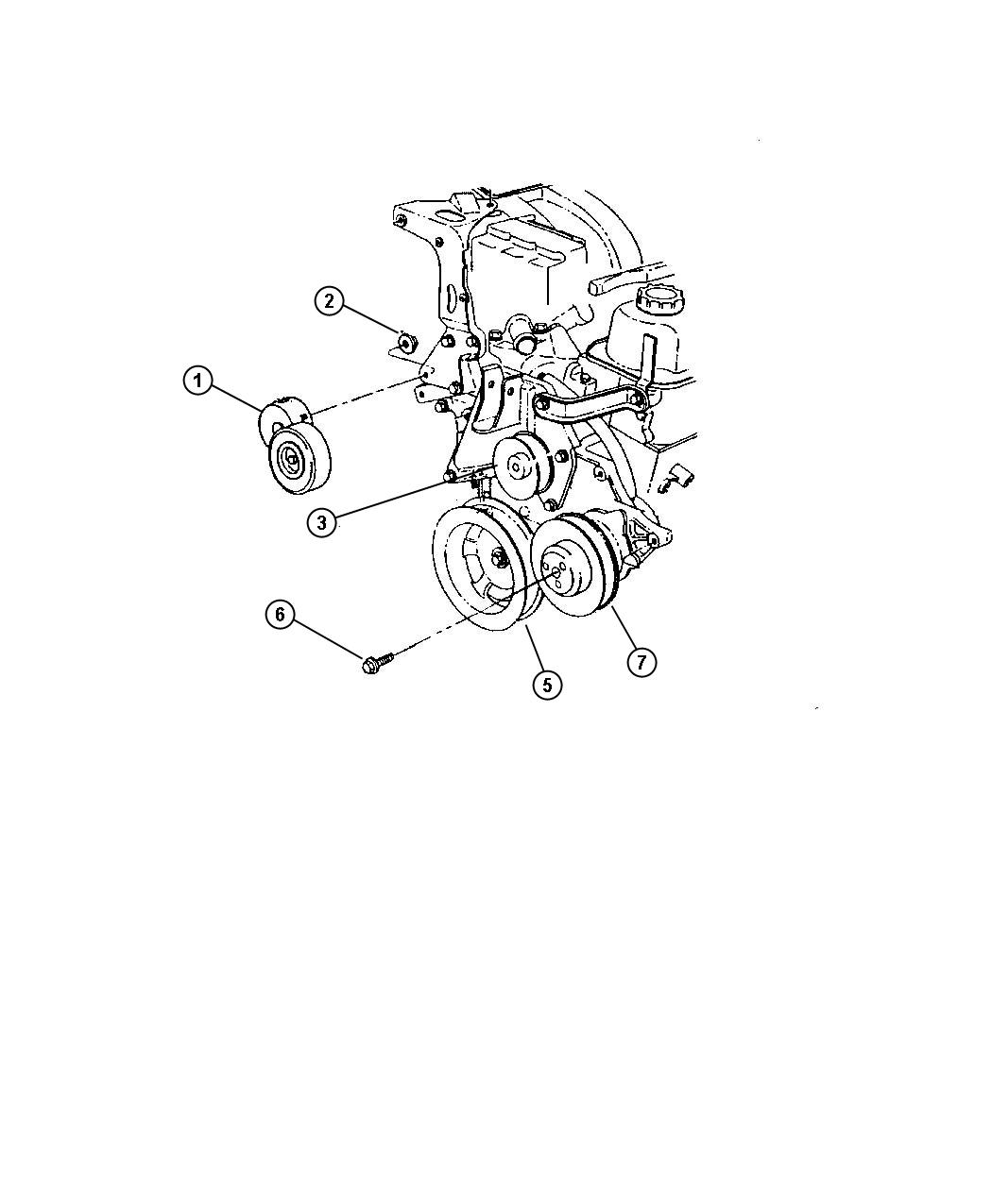 Jeep Liberty Pulley Water Pump Related Pulleys
