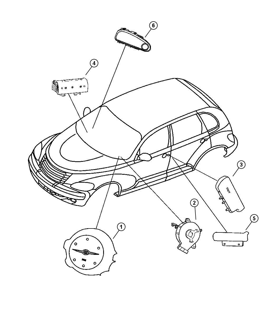 Dodge Ram Air Bag Driver Fl Trim All Trim Codes Color Taupe Pearl Beige