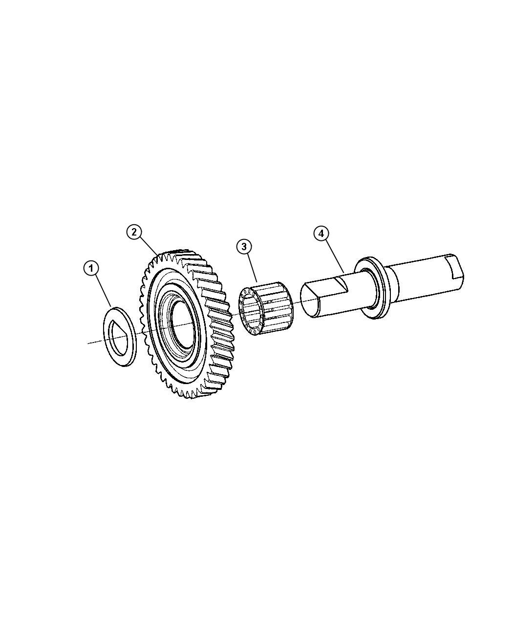 Jeep Compass Shaft Idler With Pk Ac
