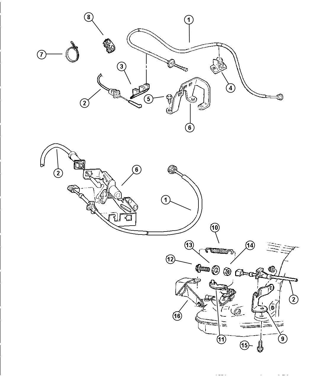 Dodge Ram Cable Throttle Valve Engine
