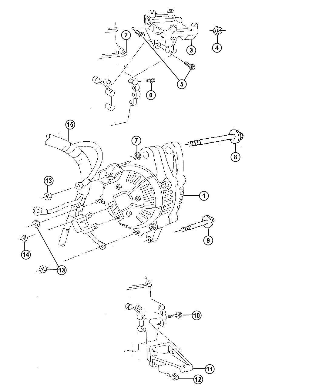Jeep Grand Cherokee Generator Engine Remanufactured