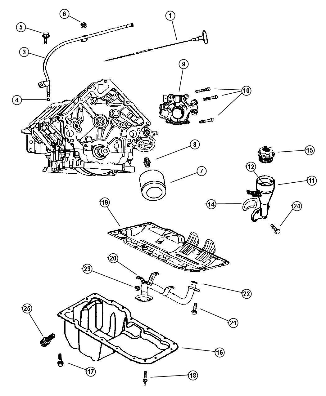 Dodge Durango Indicator Engine Oil Level Mpi Ffv