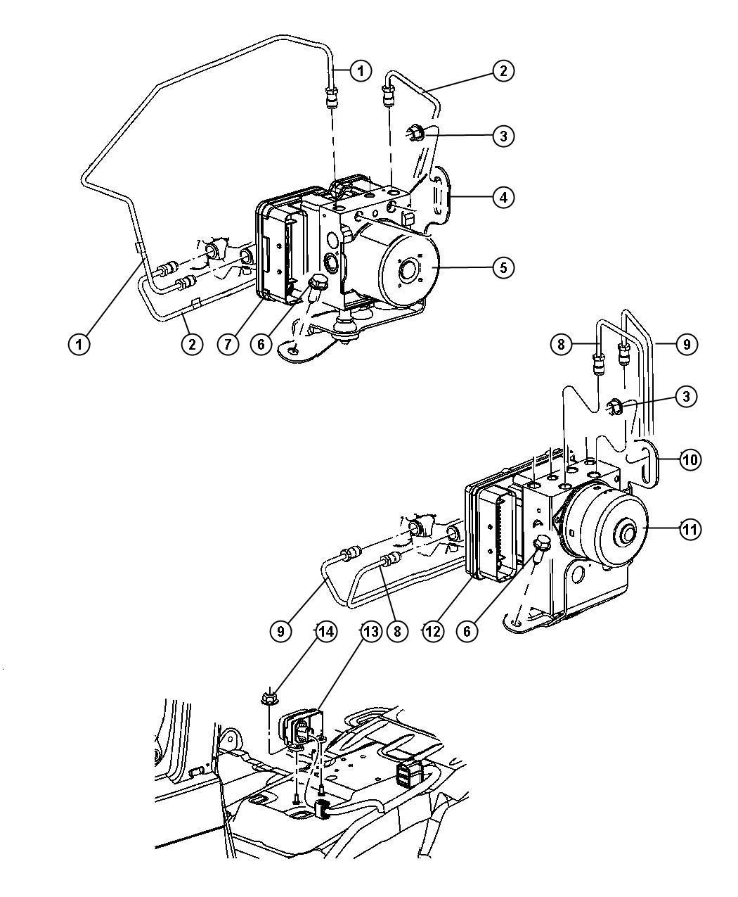 Jeep Grand Cherokee Module Sensor Cluster Dynamics
