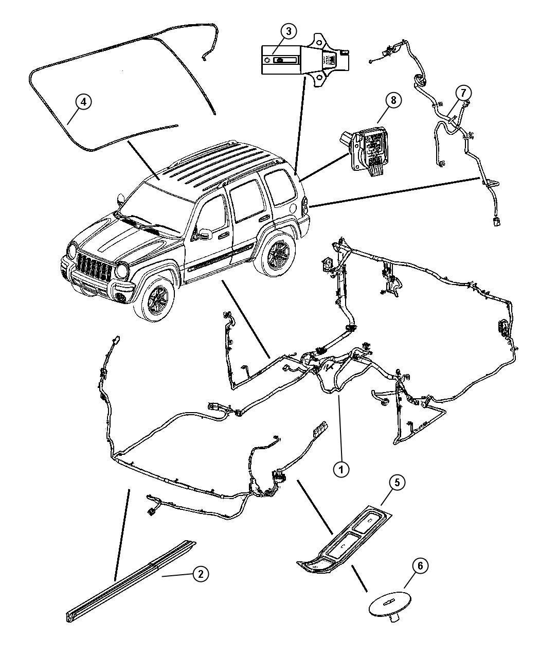 Dodge Grand Caravan Cover Wiring Protector Export