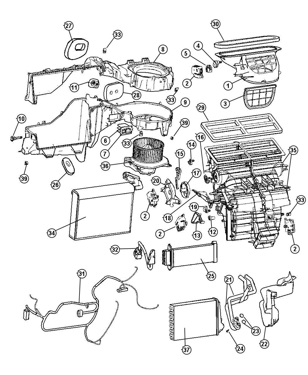 Chrysler 300 Harness Resistor Wiring Jumper