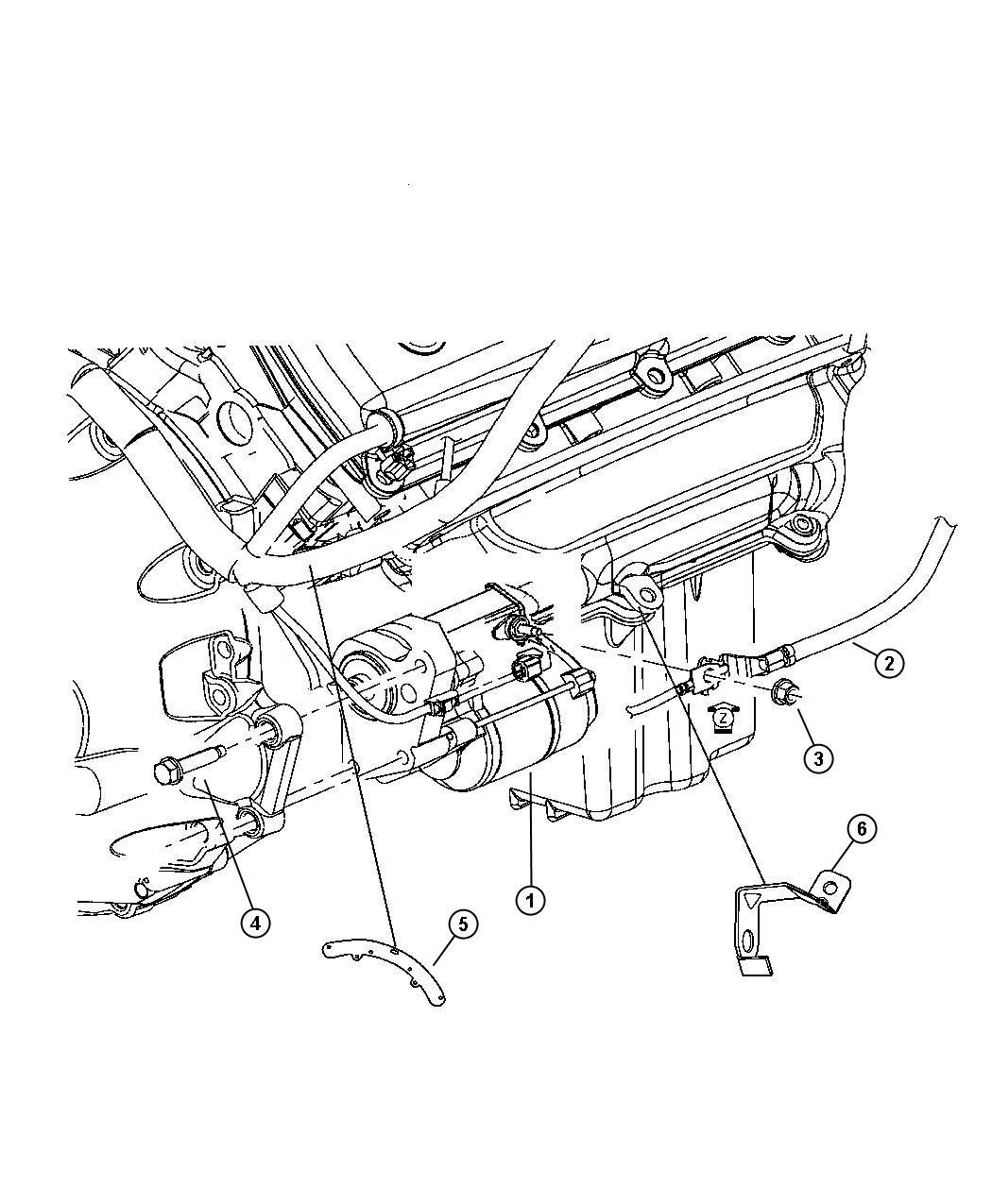 Dodge Magnum Wiring Starter Engine Ezb Esf
