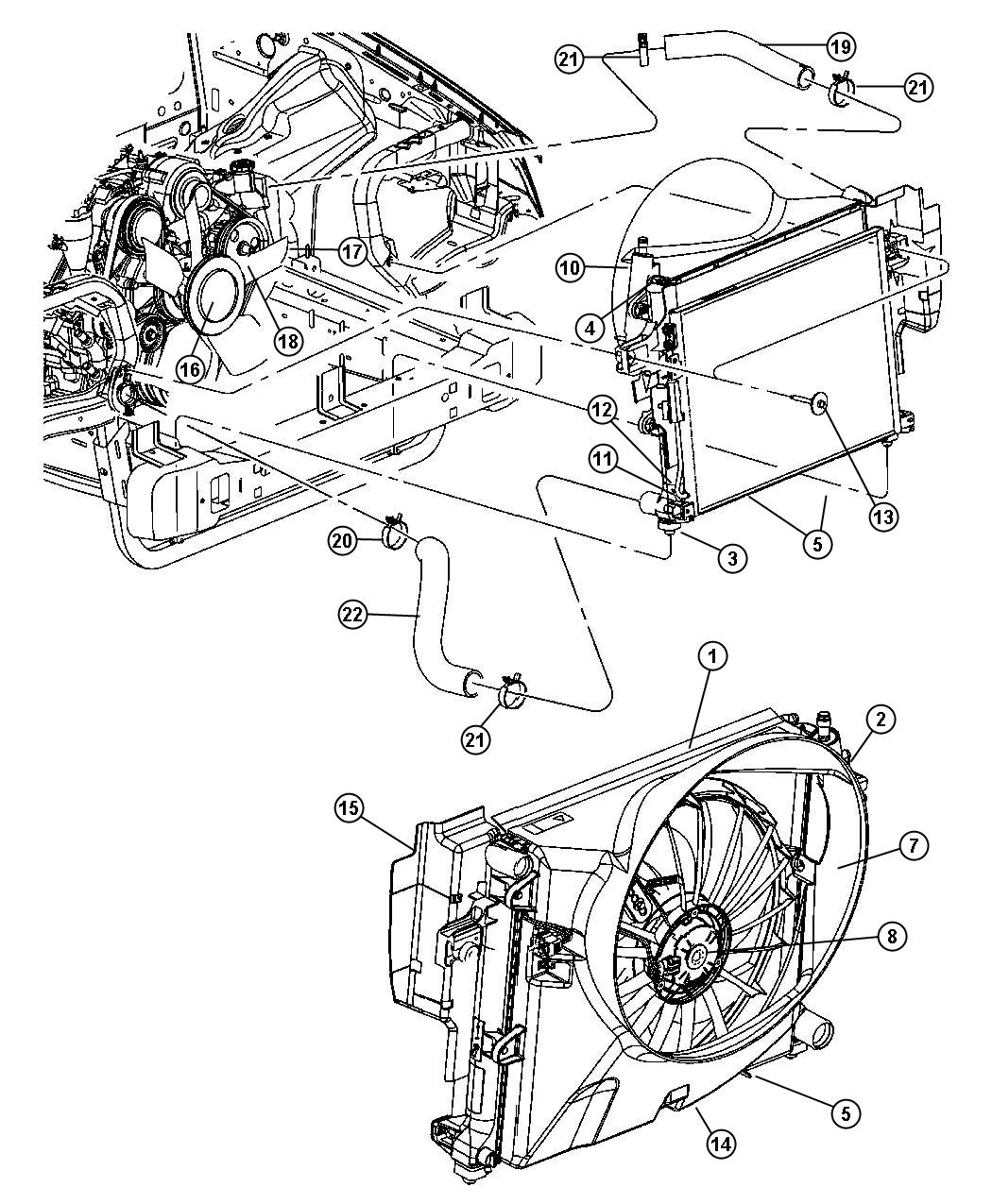 Chrysler 200 Shroud Fan Anaul Electric Manual