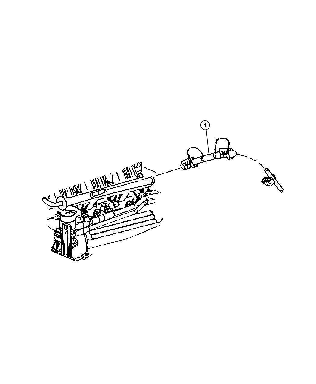 Jeep Liberty Bundle Fuel Line Fuel Rail Jumper