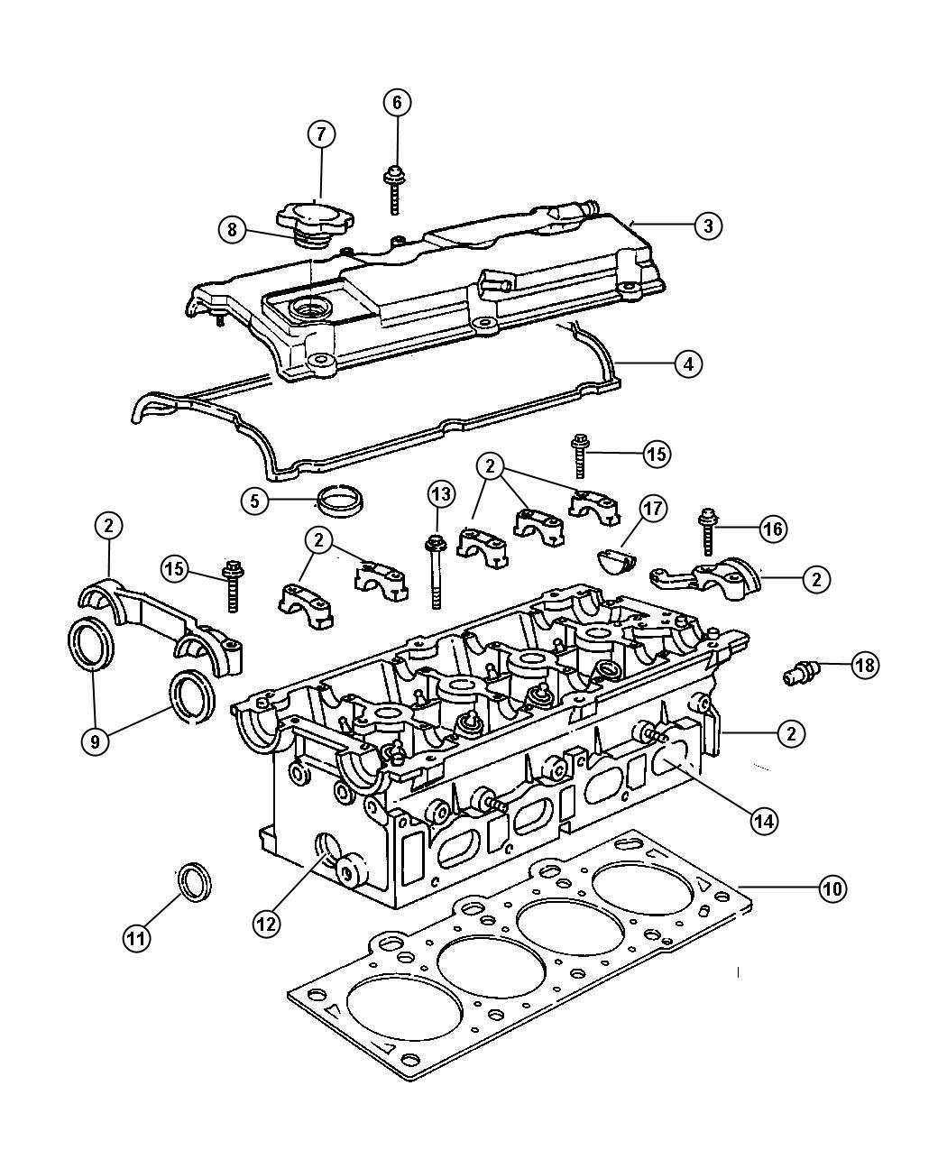 Chrysler Voyager Head Cylinder Remanufactured