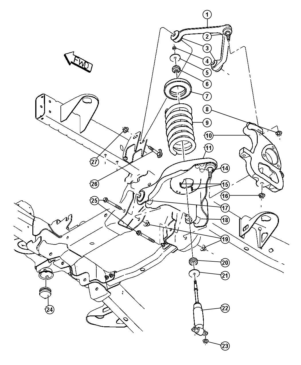 Dodge Ram Ball Joint Kit Ball Joint Package