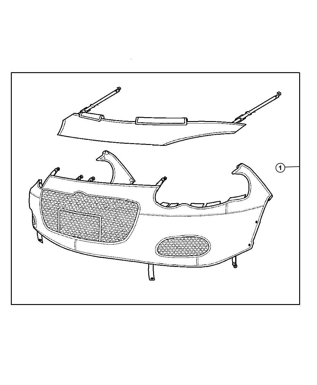 Dodge Stratus Hardware Kit