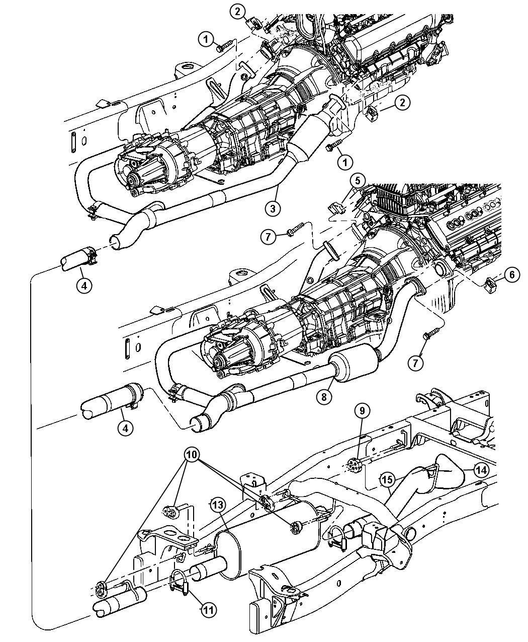 Dodge Ram Tailpipe Exhaust Ekg System