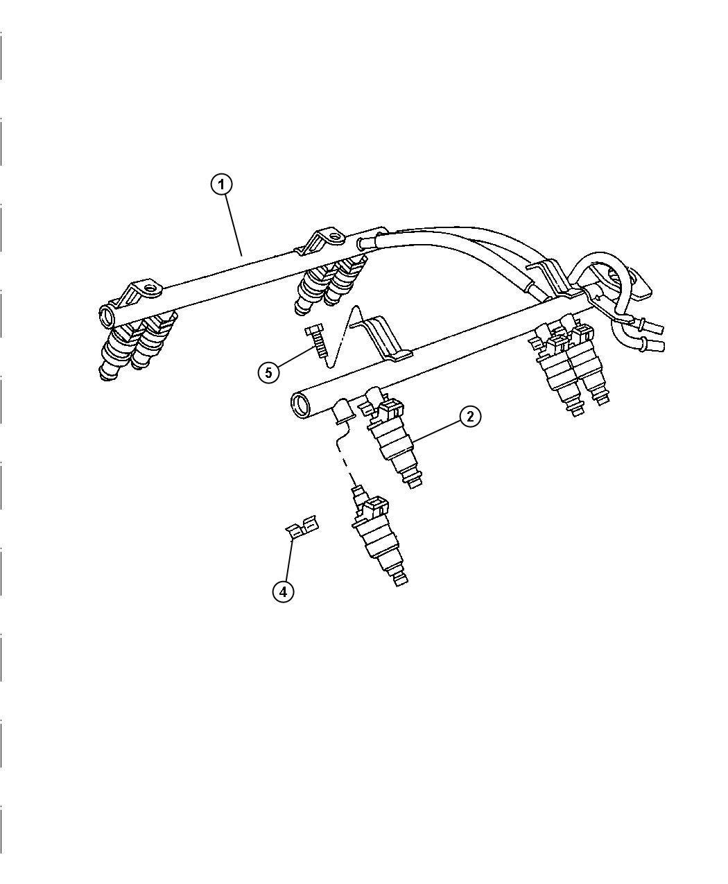 Dodge Ram O Ring Package Fuel Injector Rail Ewc