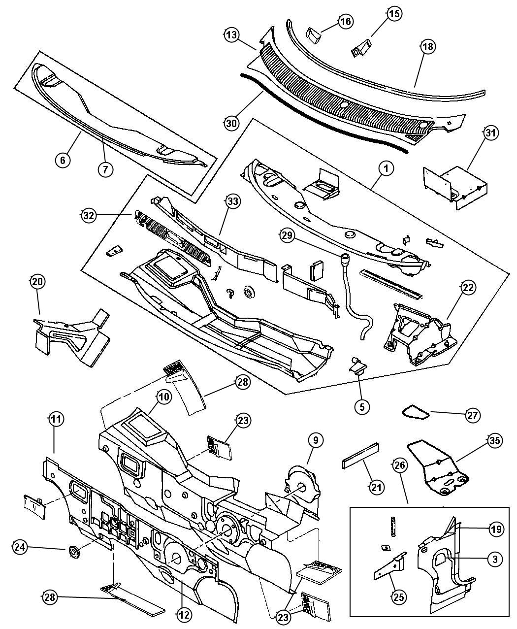 Dodge Ram Used For Screw And Washer Round Head