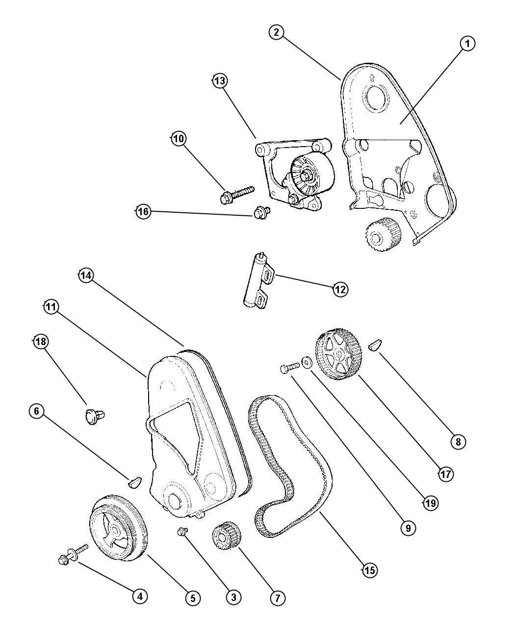 Dodge Neon Belt Timing Ulev Lecold