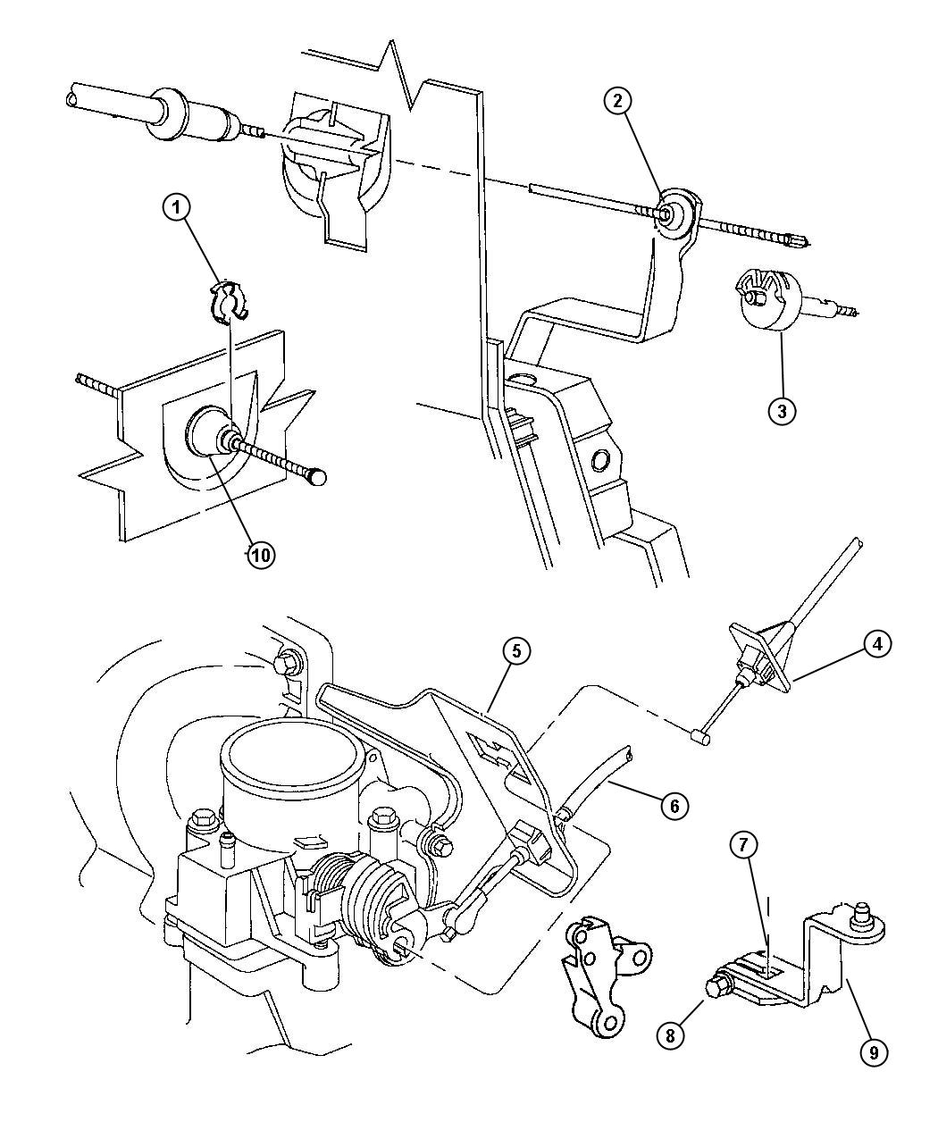 Jeep Compass Lever Throttle Control Engine Controls