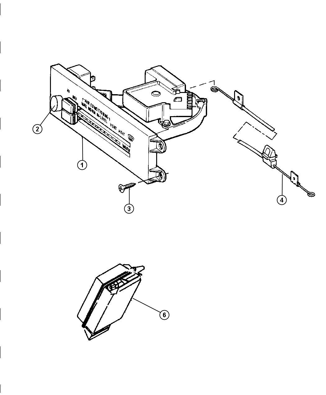 Jeep Wrangler Cable Temperature Control