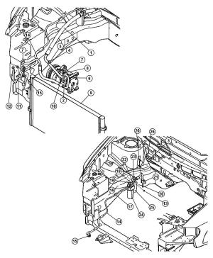 2005 Dodge Grand Caravan Line Ac suction [cyc], [hah