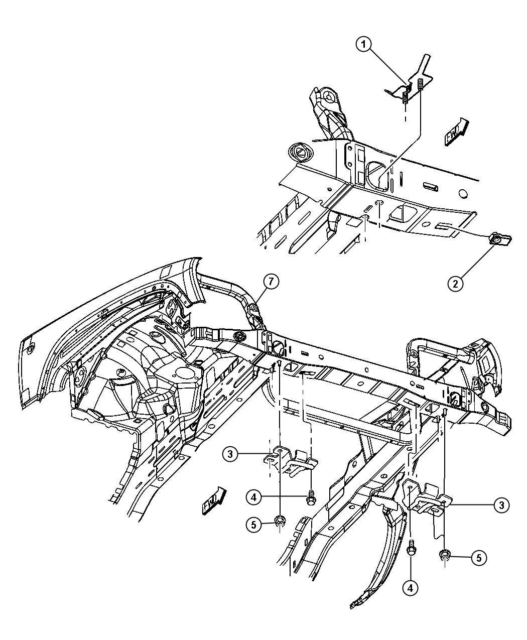 Jeep Liberty Support Radiator Lower Related