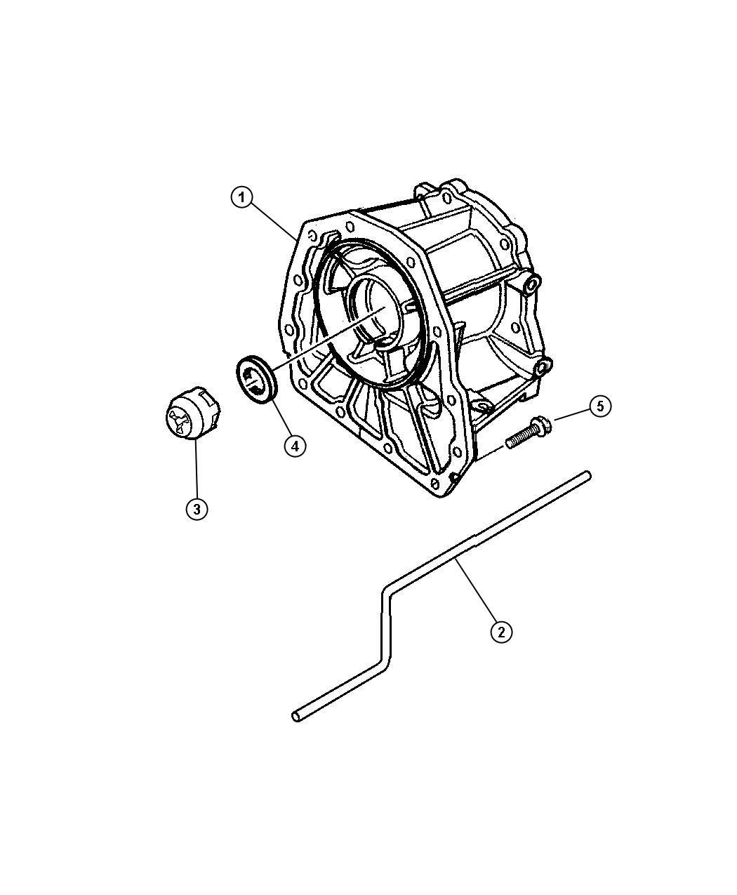 Dodge Dakota Adapter Transfer Case Transmission