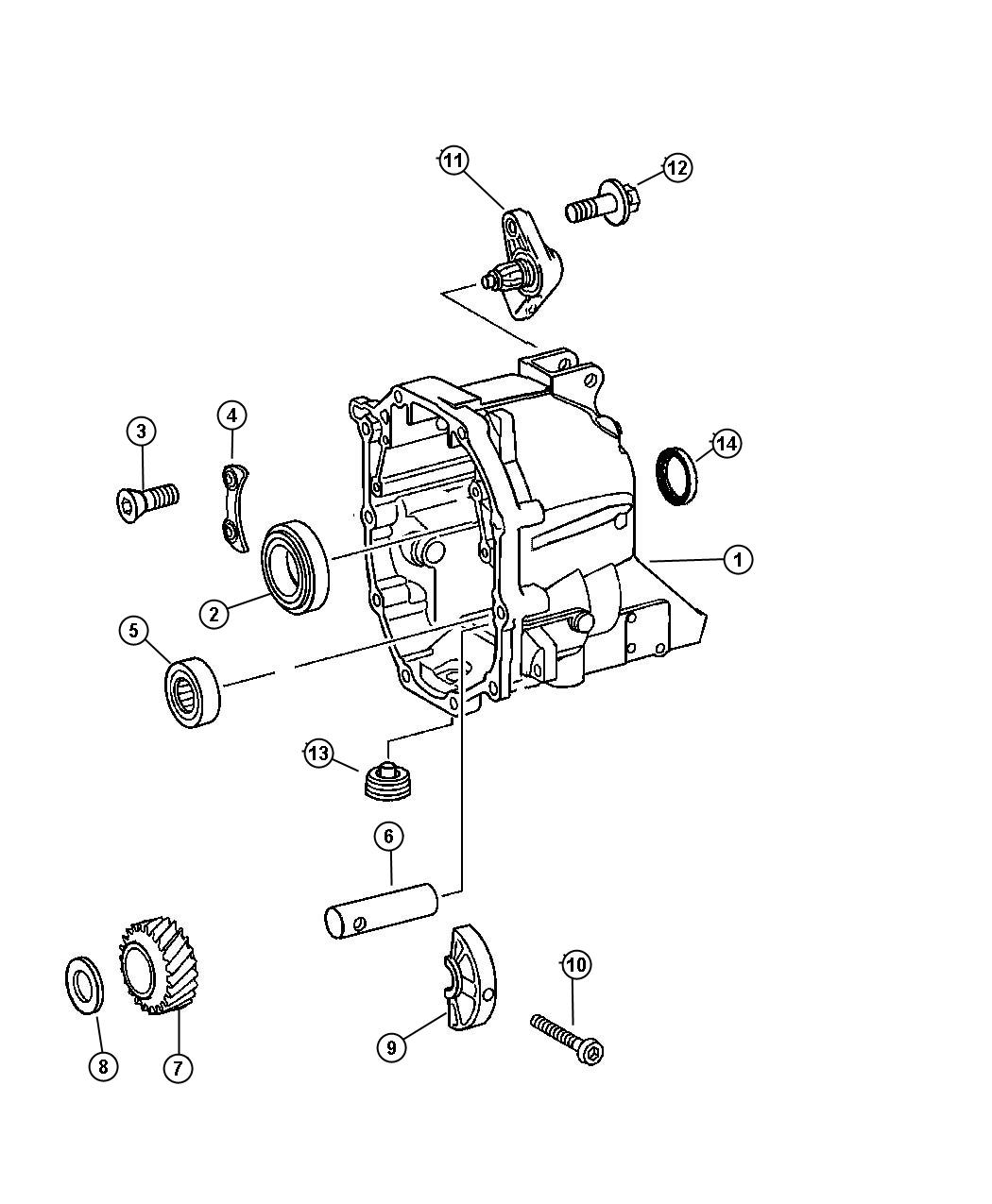 Jeep Liberty Washer Use Along With Screw For Flange Use