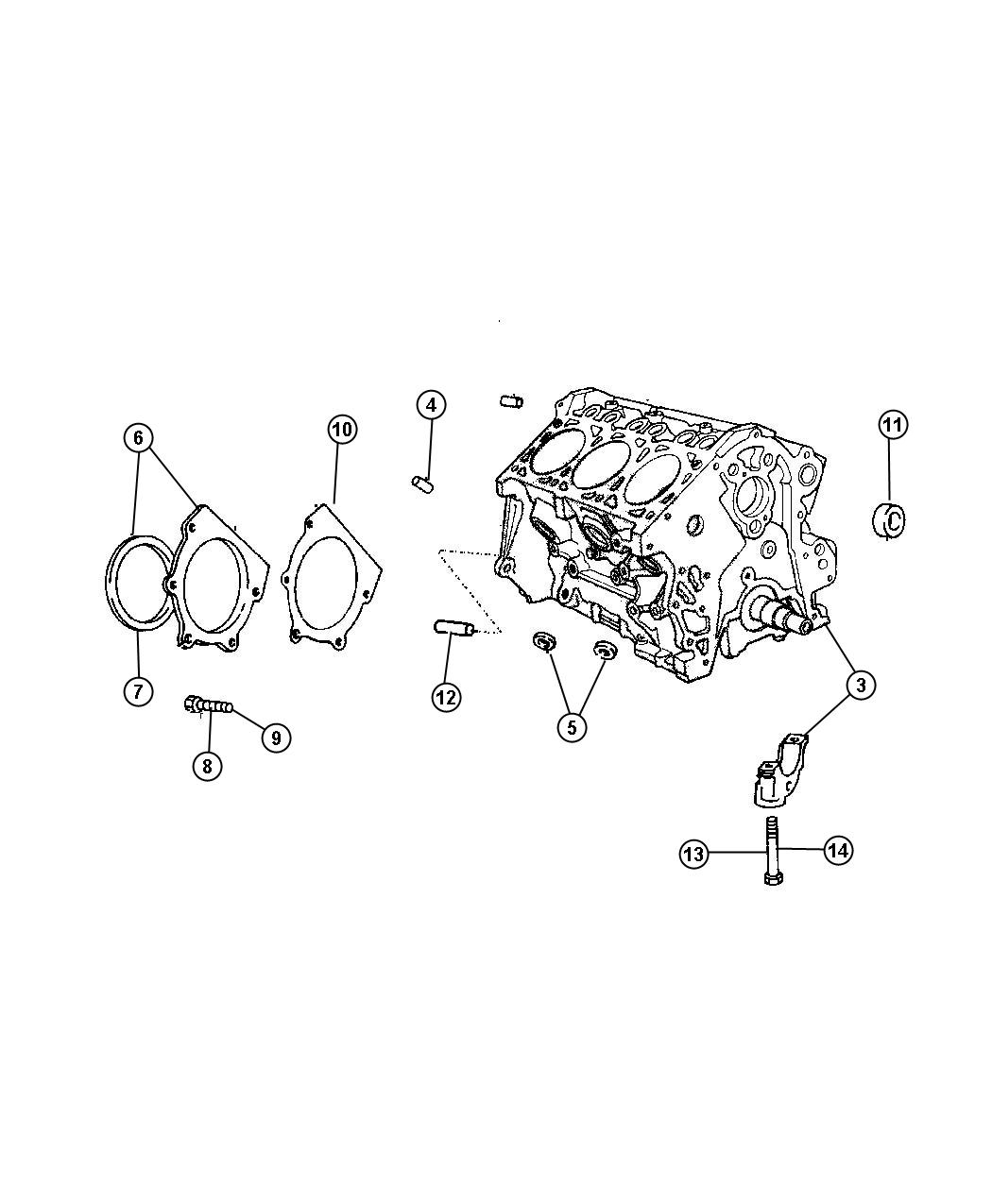 Dodge Grand Caravan Engine Long Block Ohv