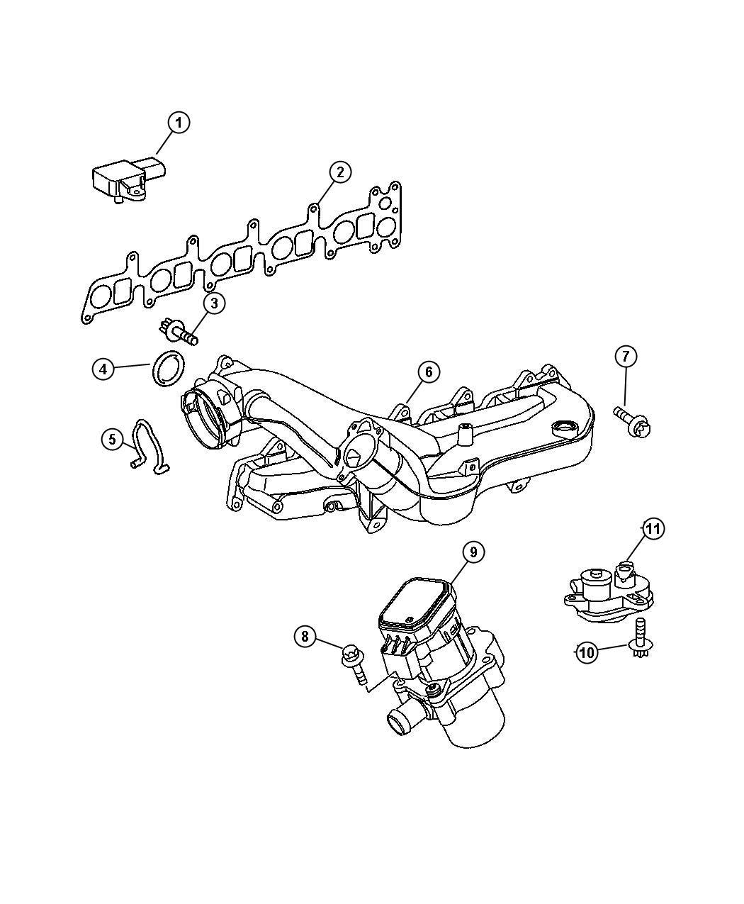 Dodge Sprinter Valve Egr Enginesel