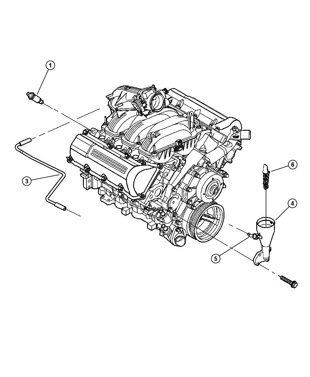 Jeep Liberty Hose Cylinder Head To Air Cleaner Ekg