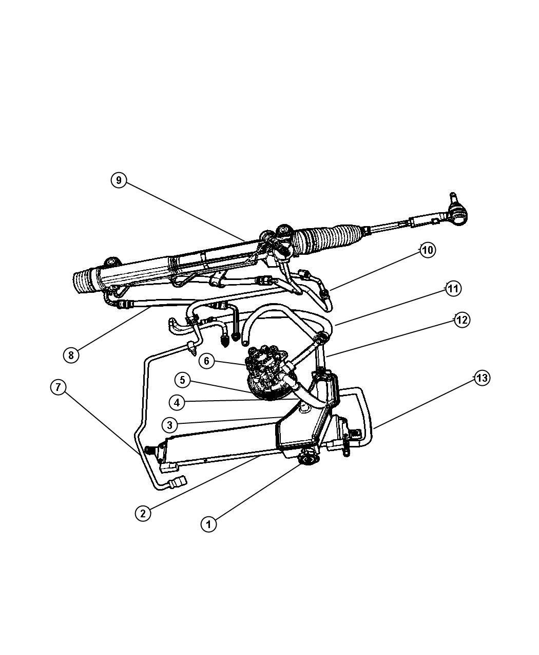 Jeep Commander Gear Power Steering Used For Rack