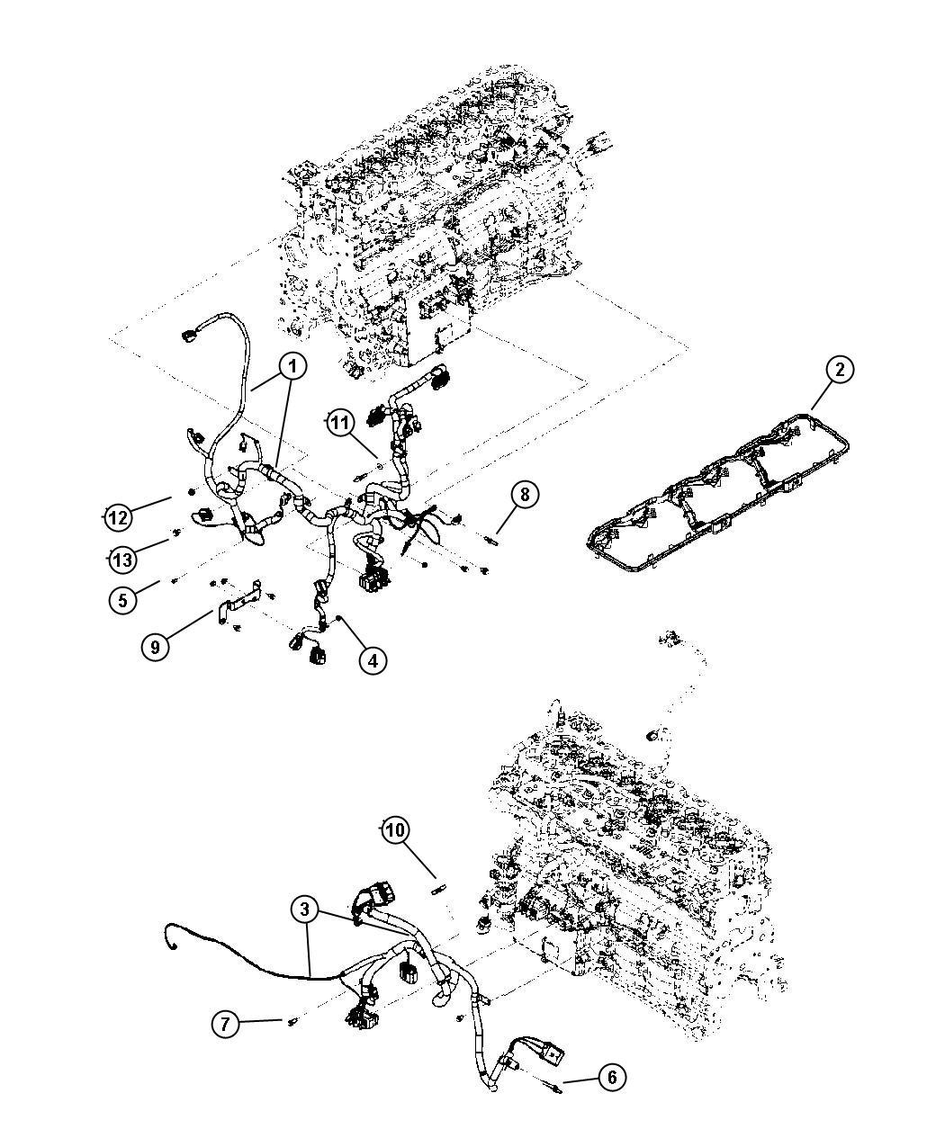 Dodge Ram Wiring Engine Injector Cummins