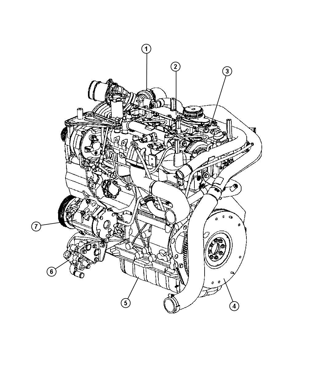 Chrysler Pt Cruiser Flywheel Turbosel Engine