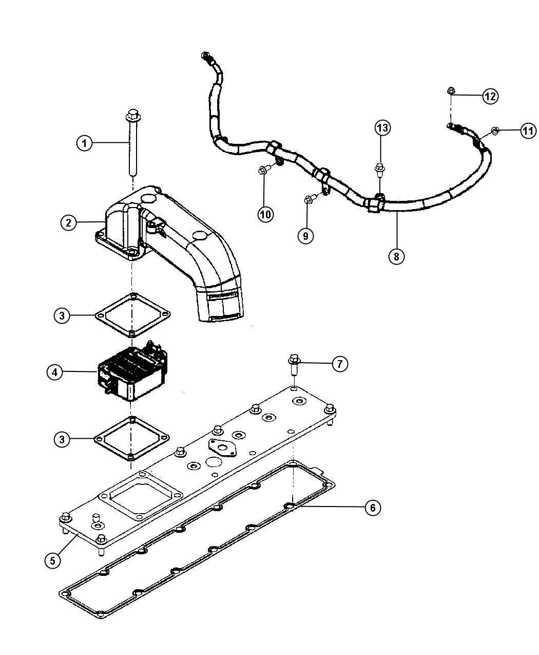 Dodge Ram Wiring Air Intake Heater Emissions