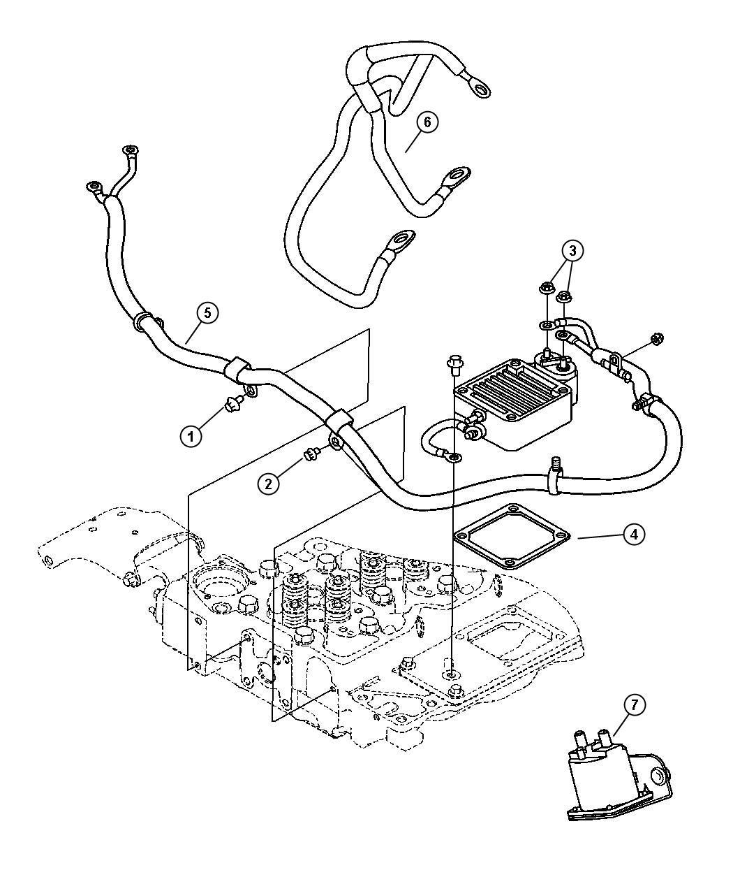 Dodge Ram Wiring Air Intake Heater Federal