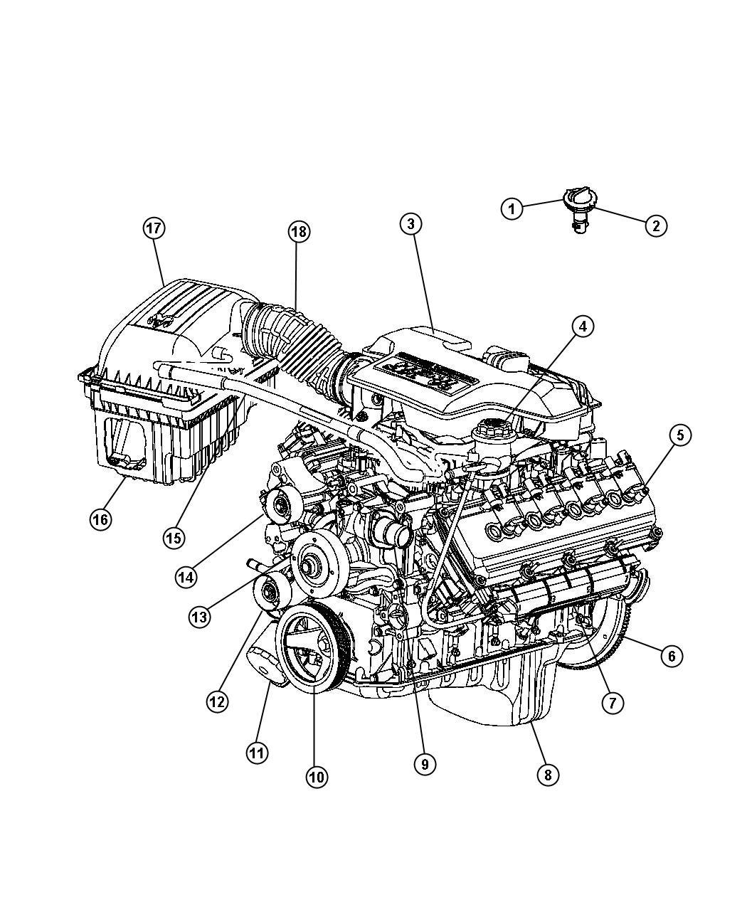 Jeep Patriot Pulley Idler Engine Alternator