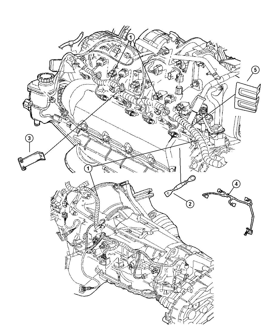 Dodge Ram Wiring Jumper Multiple Displacement