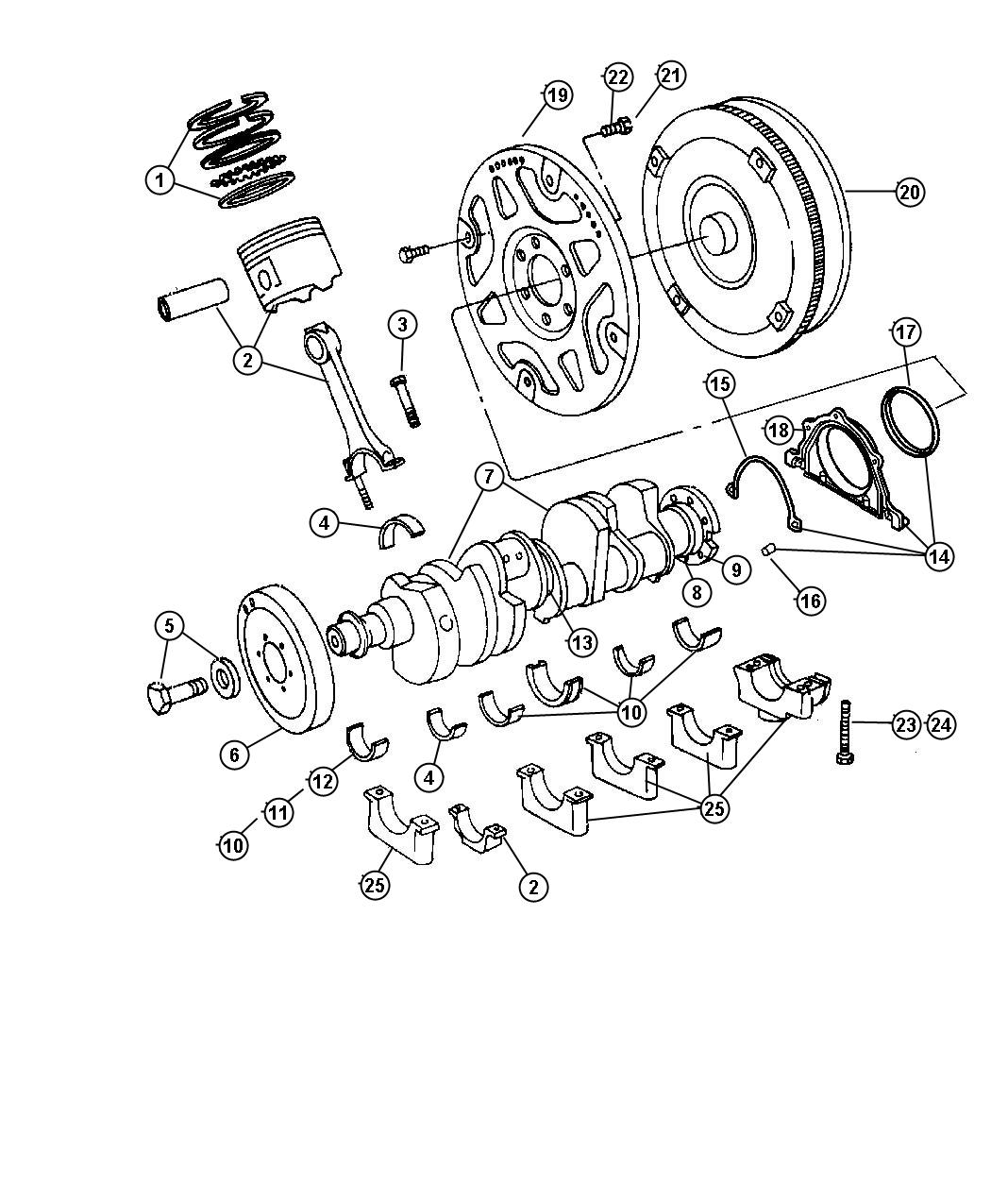 Jeep Grand Cherokee Converter Package Torque Converter
