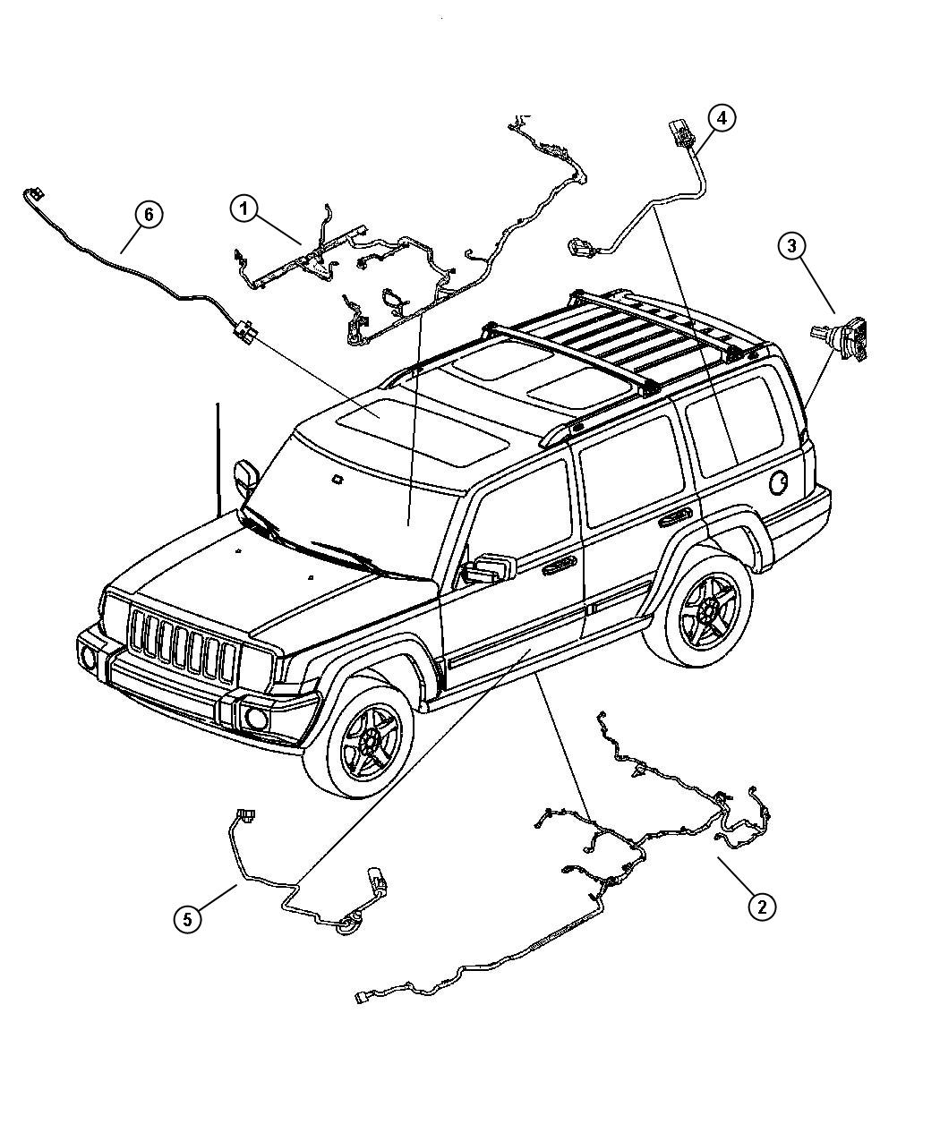 Oem Jeep Commander Wiring Diagrams Jeep Auto Wiring