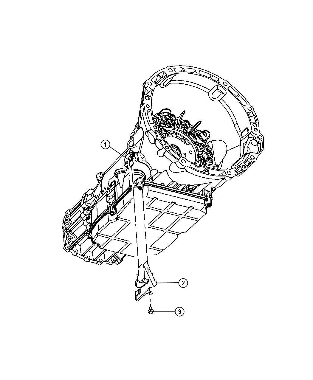 Jeep Commander Spring Harness Holding Spring