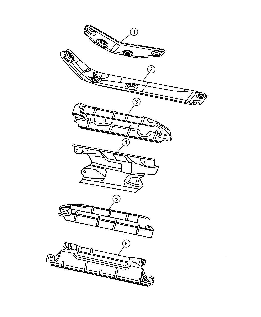 Dodge Durango Shield Exhaust Manifold Right Right Side