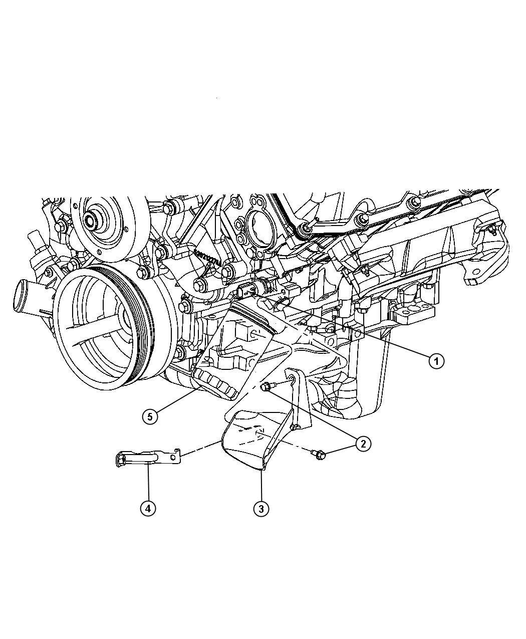Chrysler Pt Cruiser Sending Unit Switch Oil Pressure