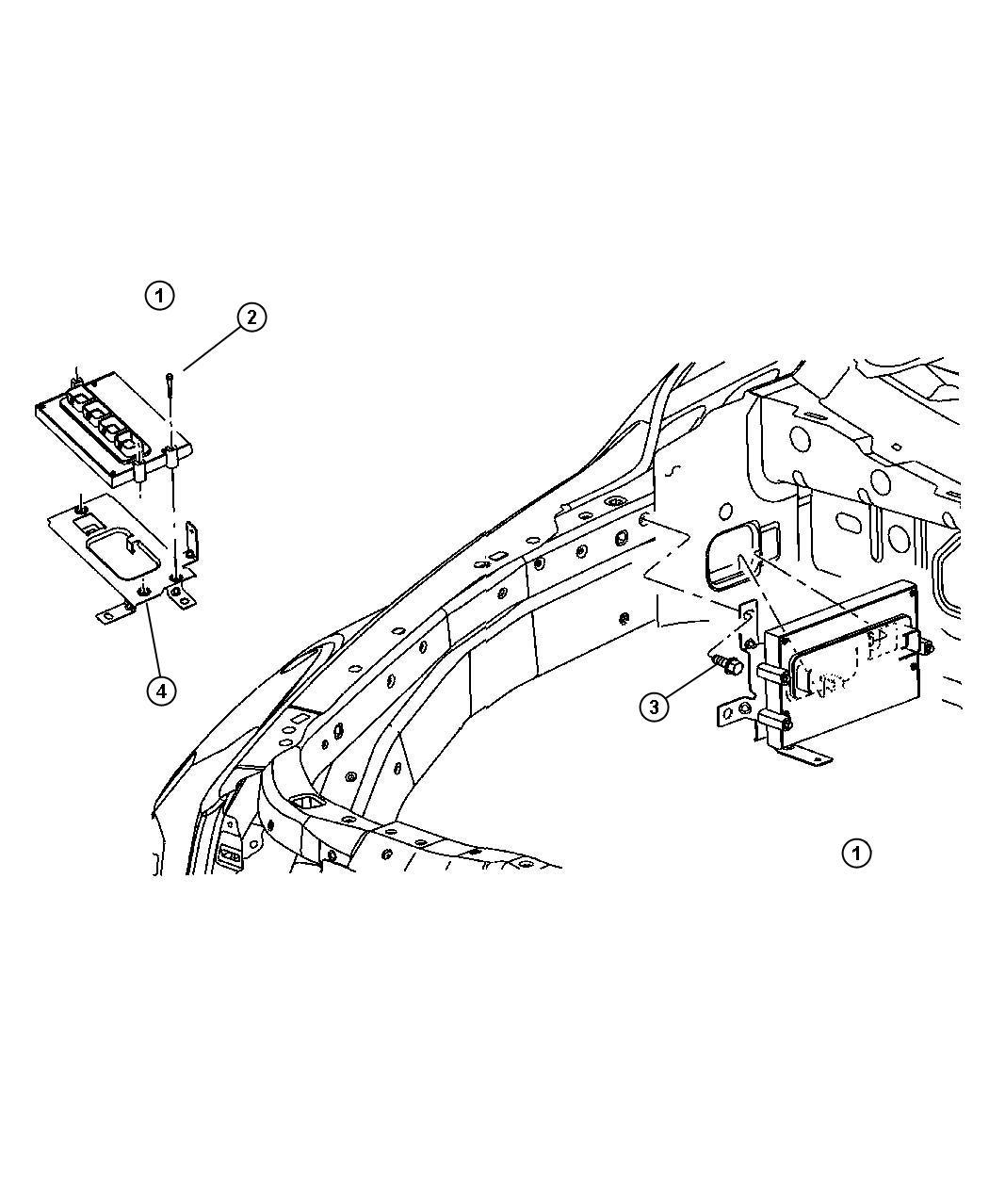 Chrysler Aspen Module Powertrain Control Generic New