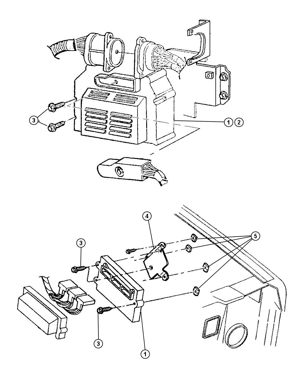 Jeep Liberty Module Powertrain Control Generic