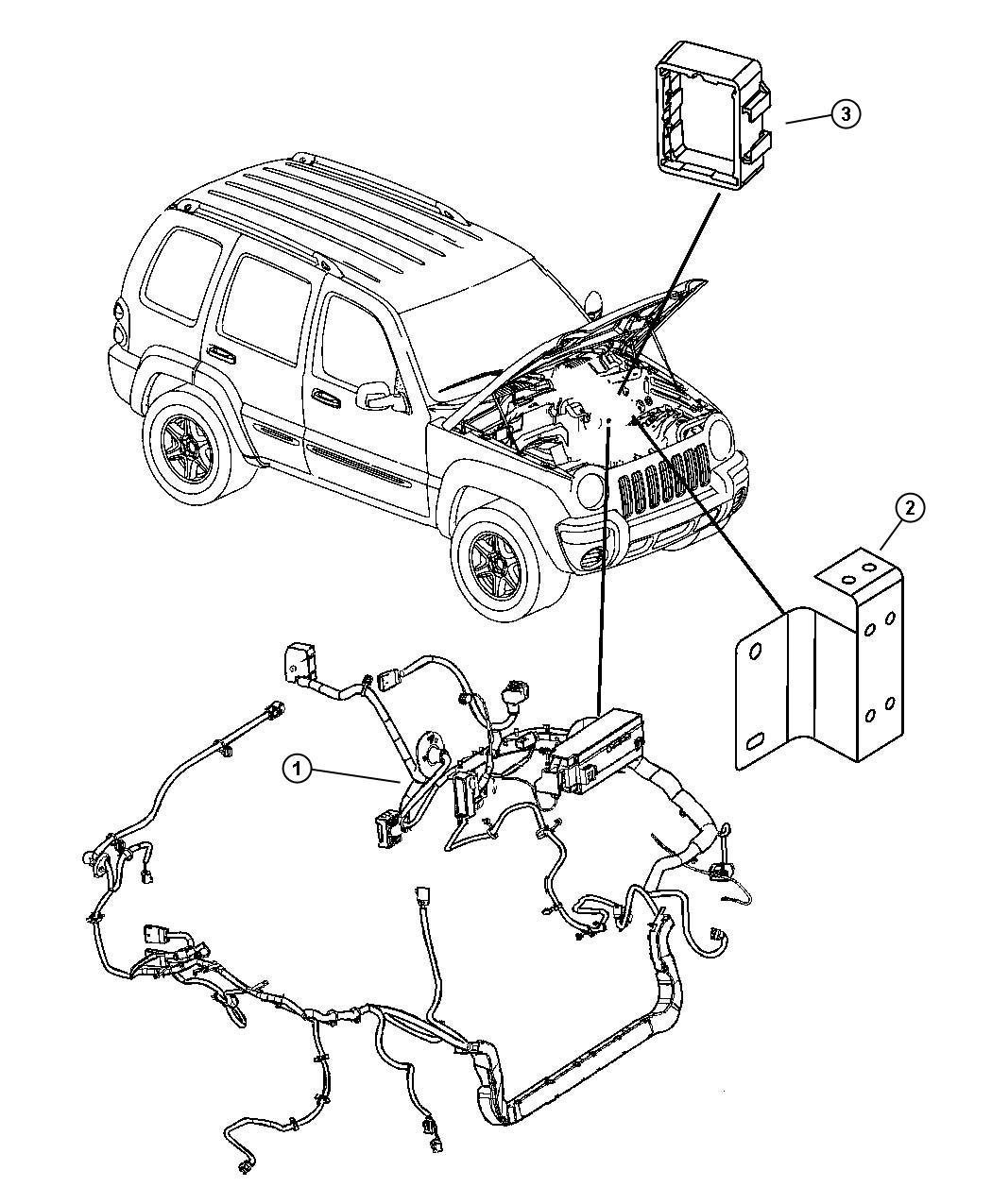 Jeep Liberty Wiring Headlamp To Dash Security