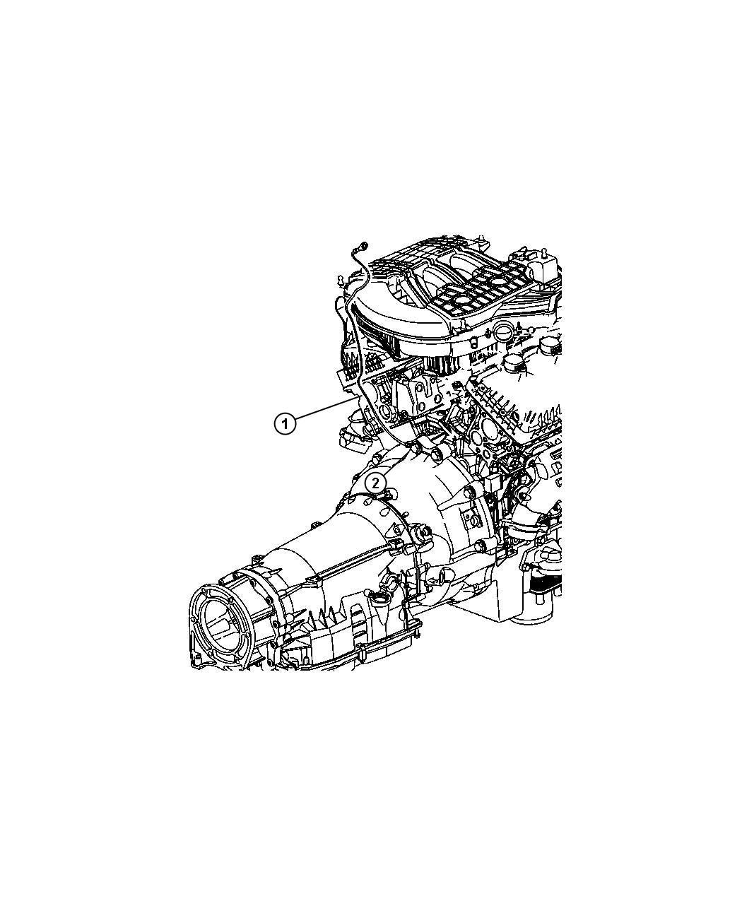 Dodge Nitro Strap Ground Engine To Body