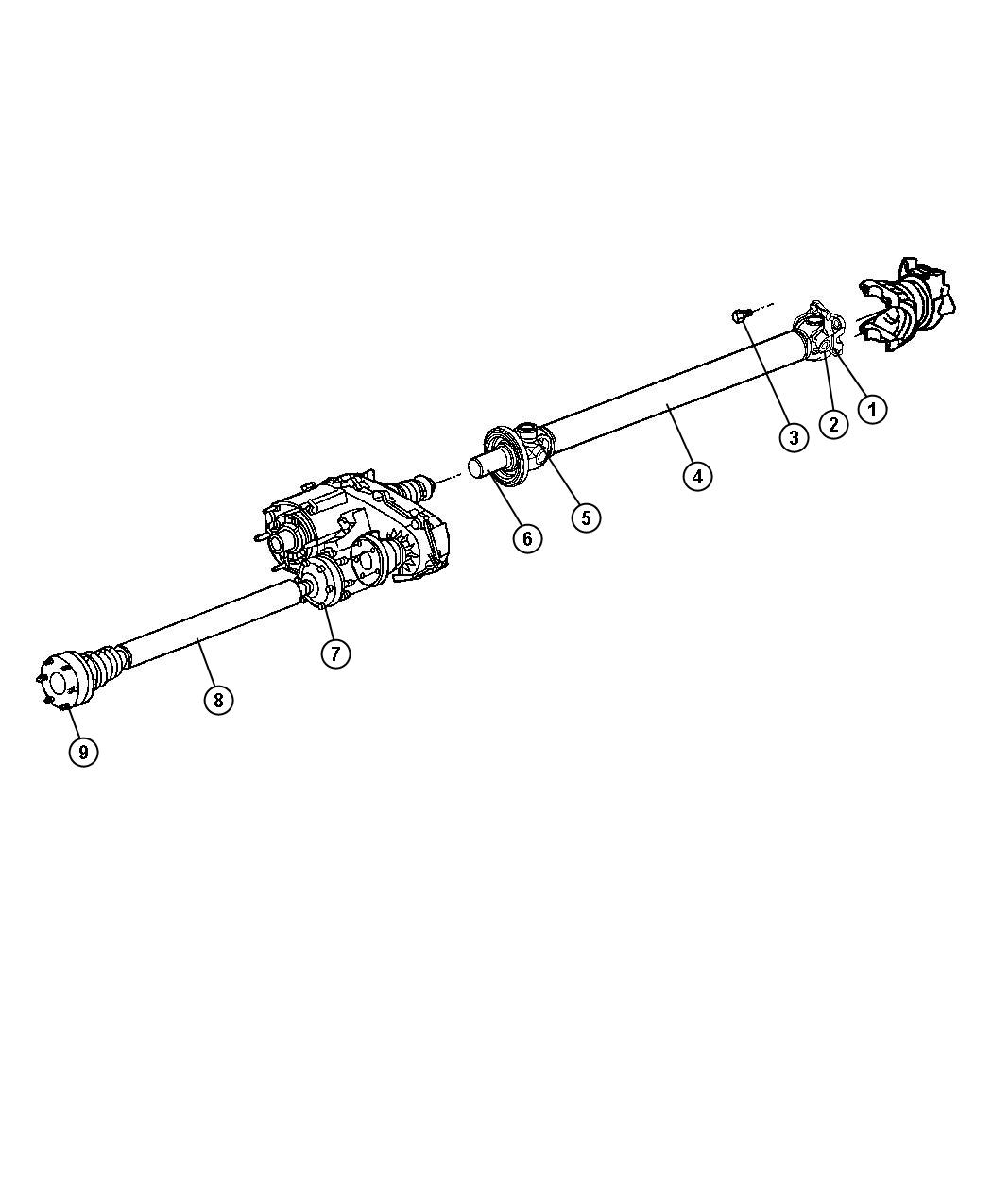 Jeep Liberty U Joint U Joint U Joint Kit Front Front